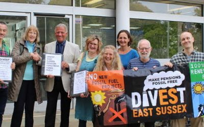 Urge ESCC to divest and declare a climate emergency on 15 October
