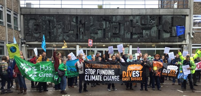 East Sussex County Council rejects calls to divest from fossil fuels and targets carbon neutrality by 2050