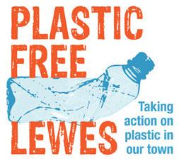Plastic Free Lewes logo