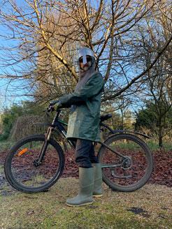 Jon Gunson cycling