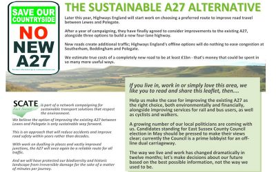 Support a sustainable A27 alternative
