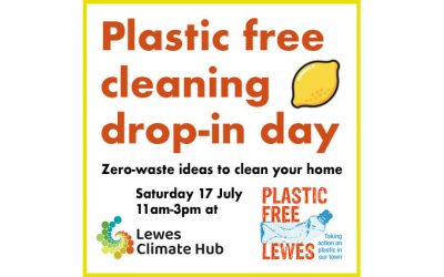 Drop-in day: Plastic-free home cleaning