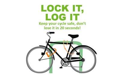 FREE bicycle marking events in Lewes