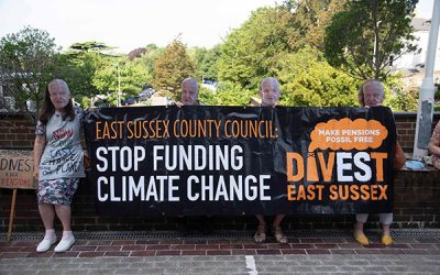 ESCC Climate Action Demo in Lewes